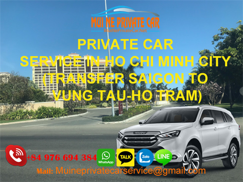 TRANSPORT HO CHI MINH TO VUNG TAU PRIVATE CAR