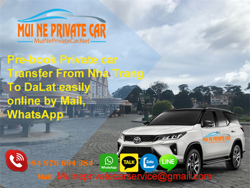 Transfer From Nha Trang To DaLat By Private Car