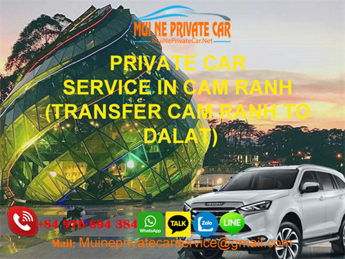 CAM RANH NHA TRANG AIRPORT TO DALAT BY PRIVATE CAR