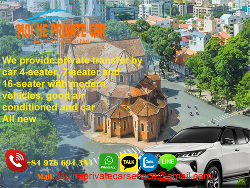 Transfer from Da lat to Ho chi minh City by private car