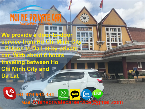 Transfer From Saigon to Dalat By Private Car Only 160$